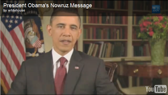 VIDEO: U.S. President Barack Obama's Nowruz Message to Iran