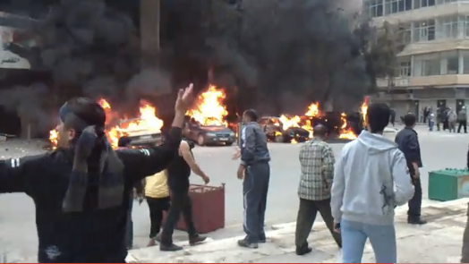 Live-blog: Protests in Syria, Violent Government Crackdown, Several Protesters Killed