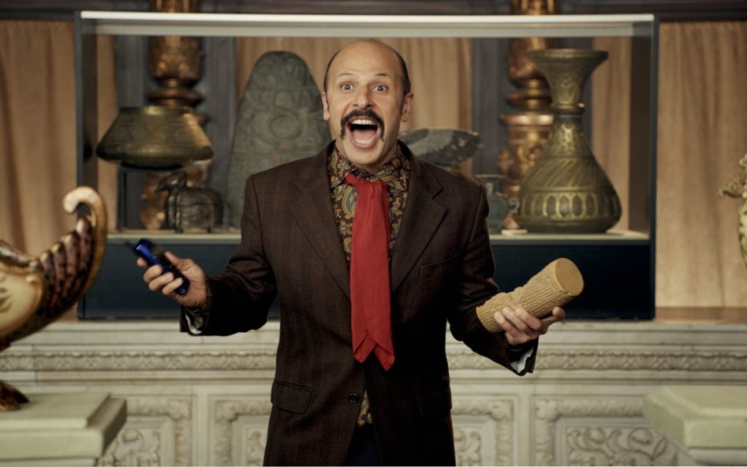 Conversation with Maz Jobrani about his new movie, Jimmy Vestvood: Amerikan Hero