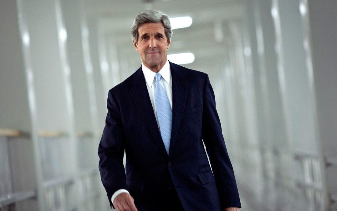 "An important tweet storm from former U.S. Secretary of State, John Kerry: ""this is a time to tread carefully"""